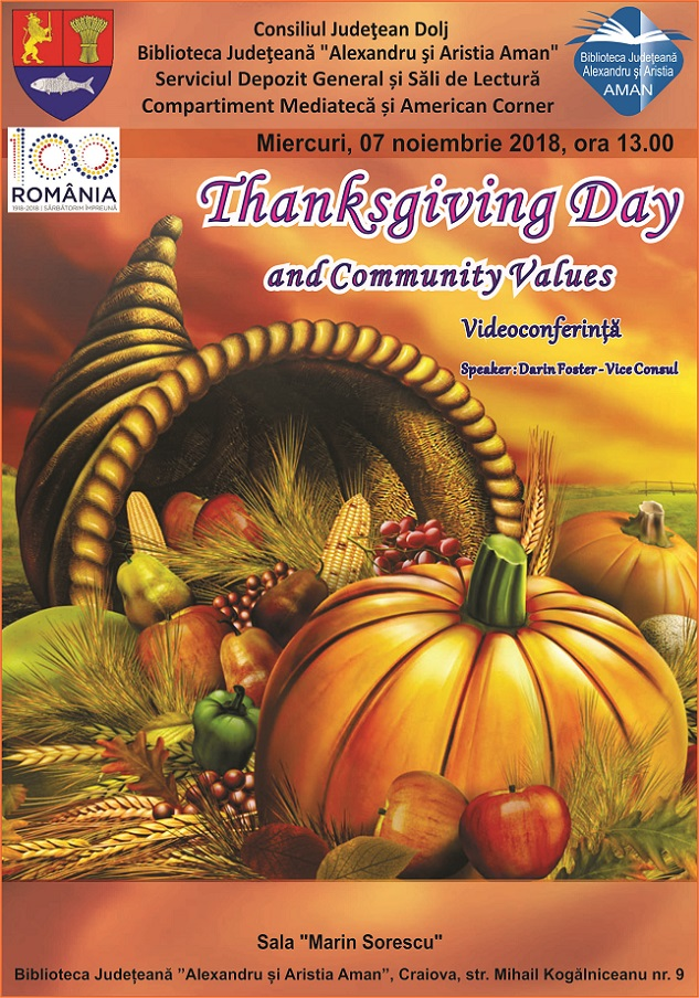 """Thanksgiving 2 """"Thanksgiving Day and Community Values"""" poze"""