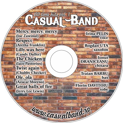 cd bogdan  CASUAL BAND își lansează primul album   ALL TIME HITS! poze
