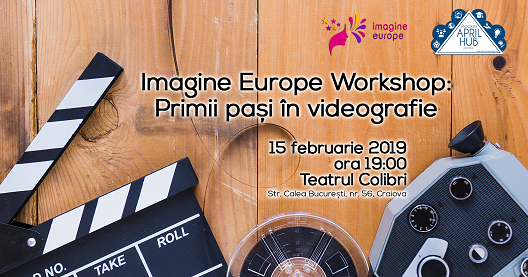 cover workshop Imagine Europe Workshop: Primii pași în videografie poze